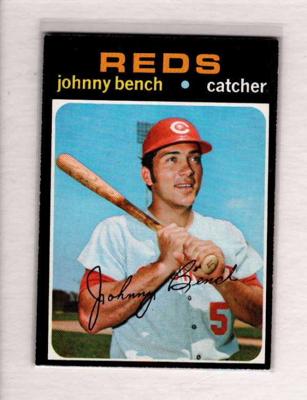 1971 TOPPS #250 JOHNNY BENCH EX-MT A3570