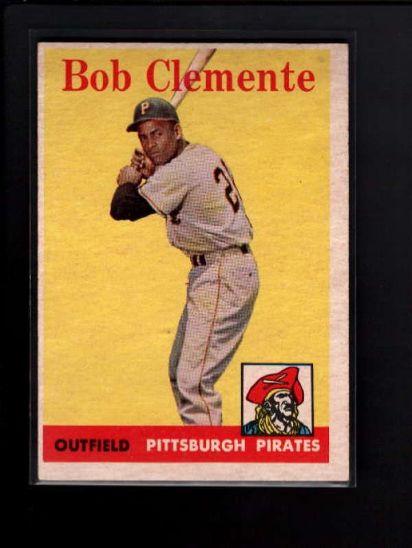 1958 TOPPS #52 BOB CLEMENTE EX-MT B1254
