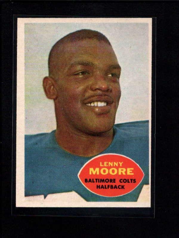 1960 TOPPS #3 LENNY MOORE EX-MT B118