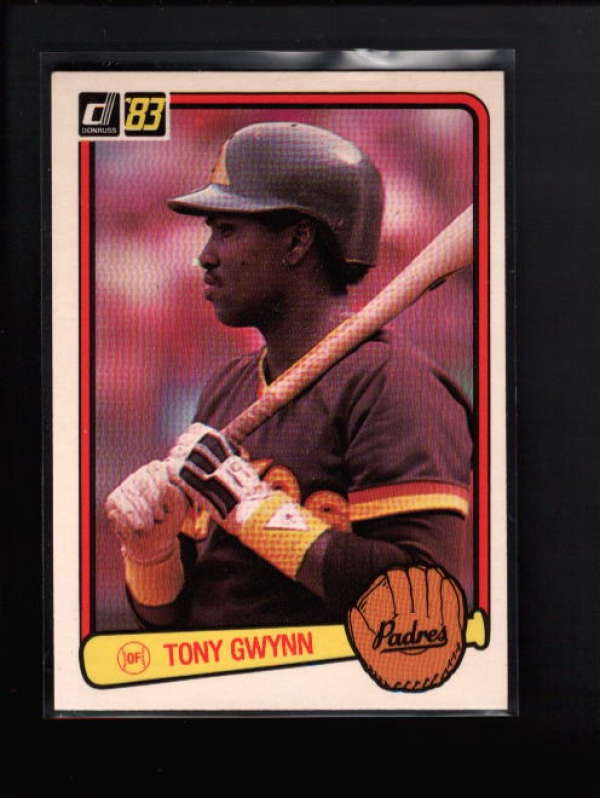 1983 DONRUSS #598 TONY GWYNN NM B8045