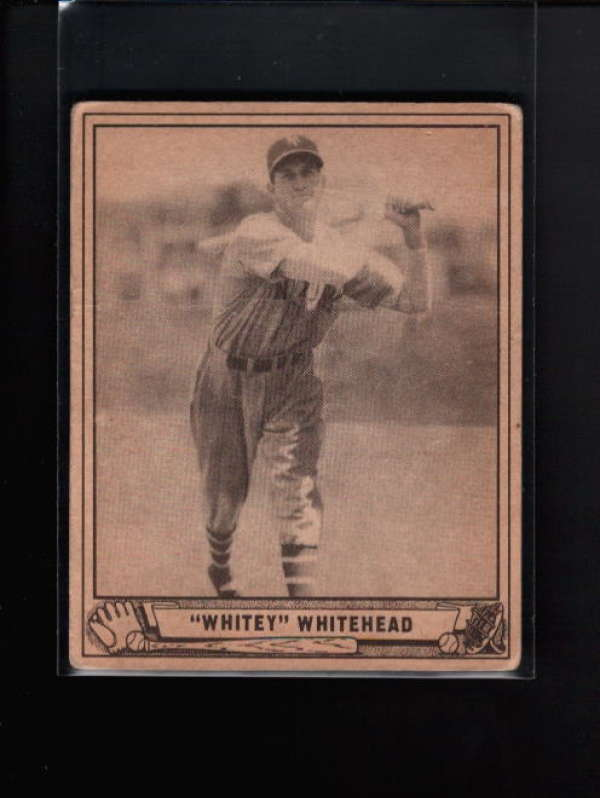 1940 PLAY BALL #92 BURGESS WHITEHEAD VG-EX B8459
