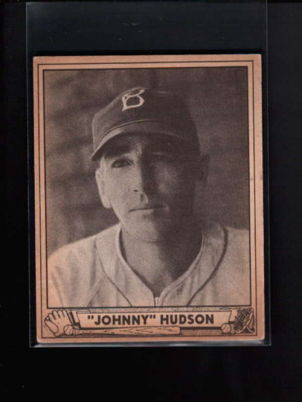 1940 PLAY BALL #147 JOHN HUDSON EX B8473